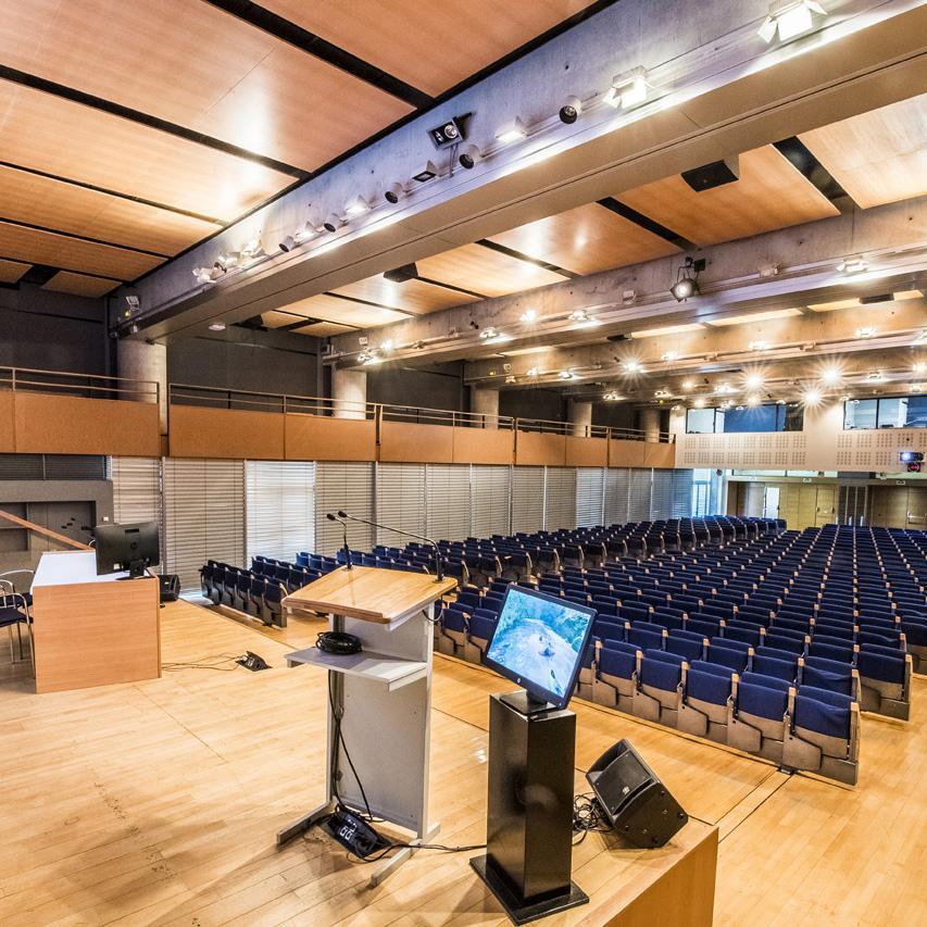 Amphi du Centre d'information scientifique de l'Institut Pasteur